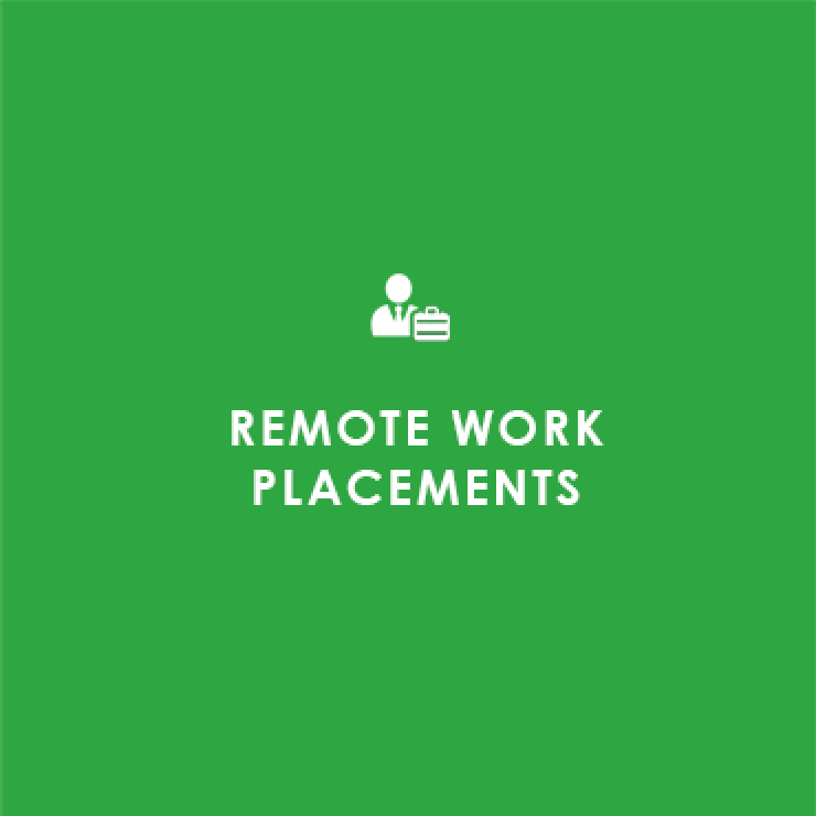 remote work placements